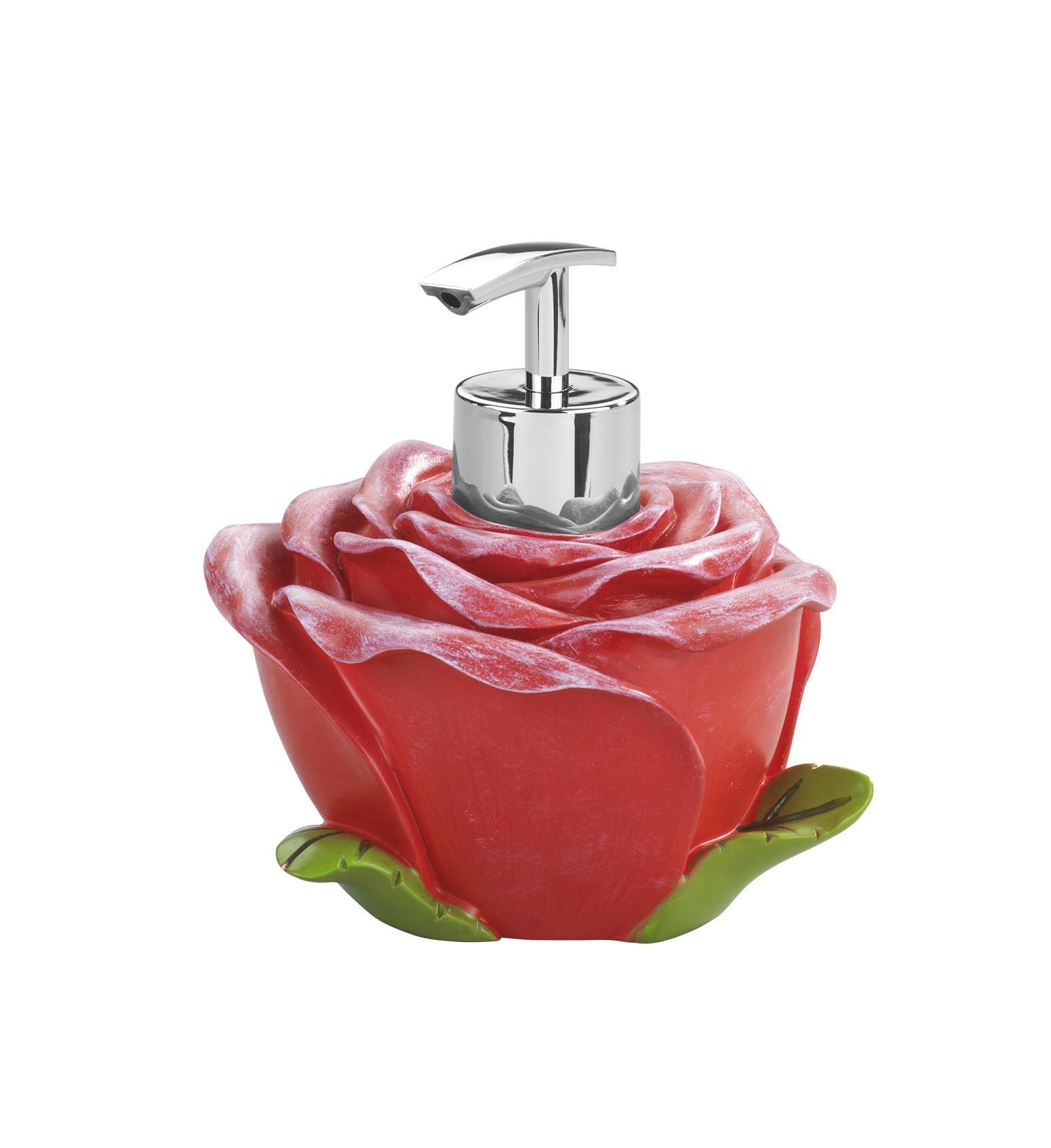 Seifenspender Rose, Spülmittelspender