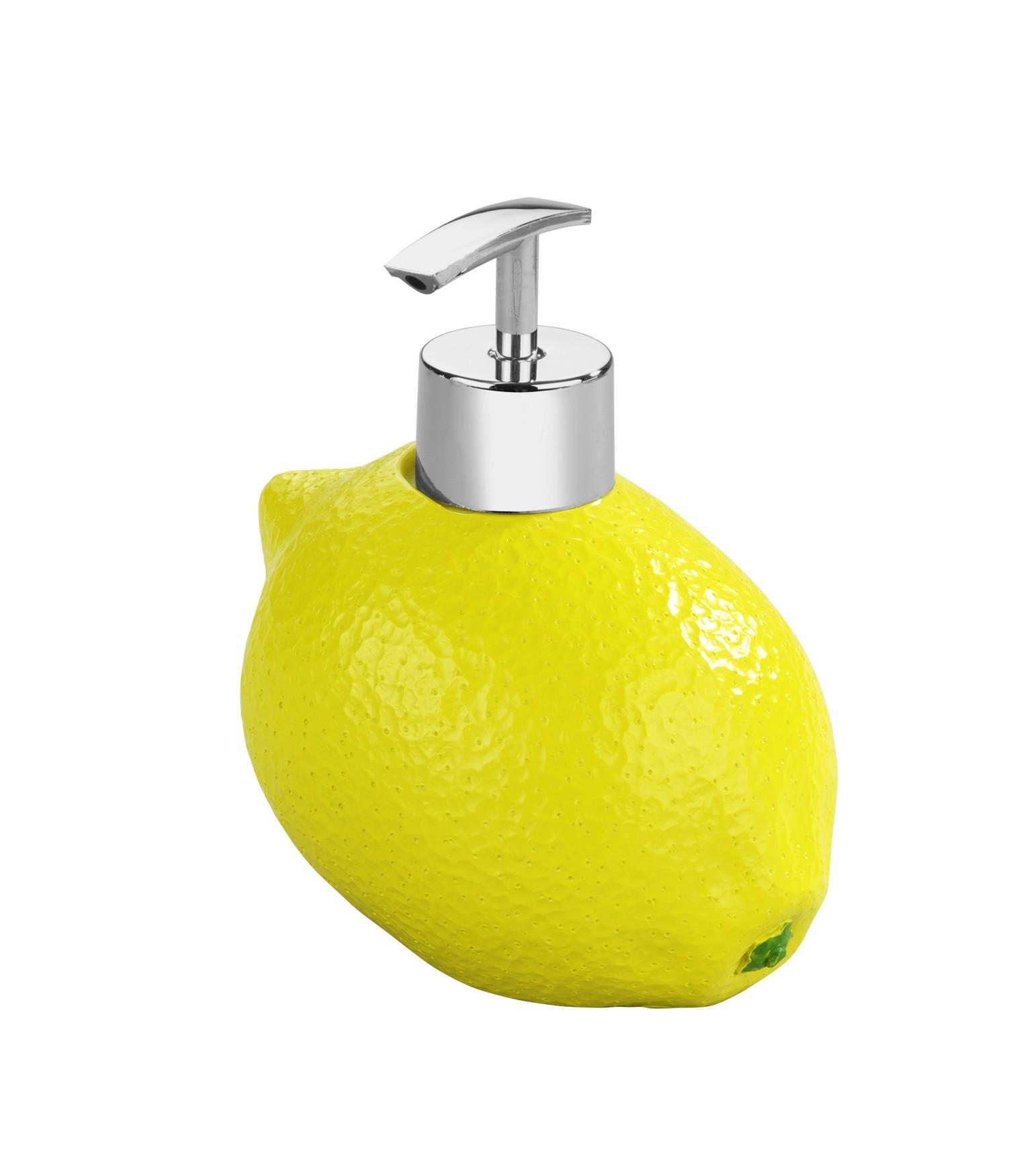 Seifenspender Zitrone, Spülmittelspender