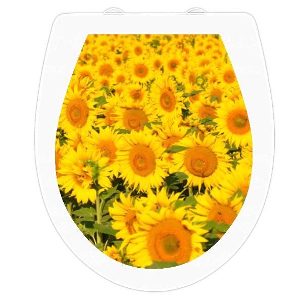WC-Sitz Aufkleber Sonnenblume