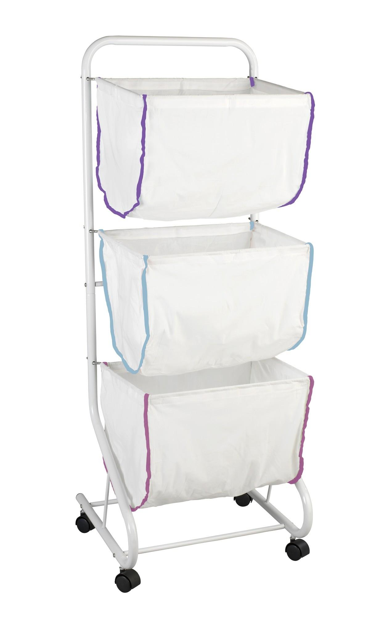 Wäschesammler Escala, mit 3 Körben