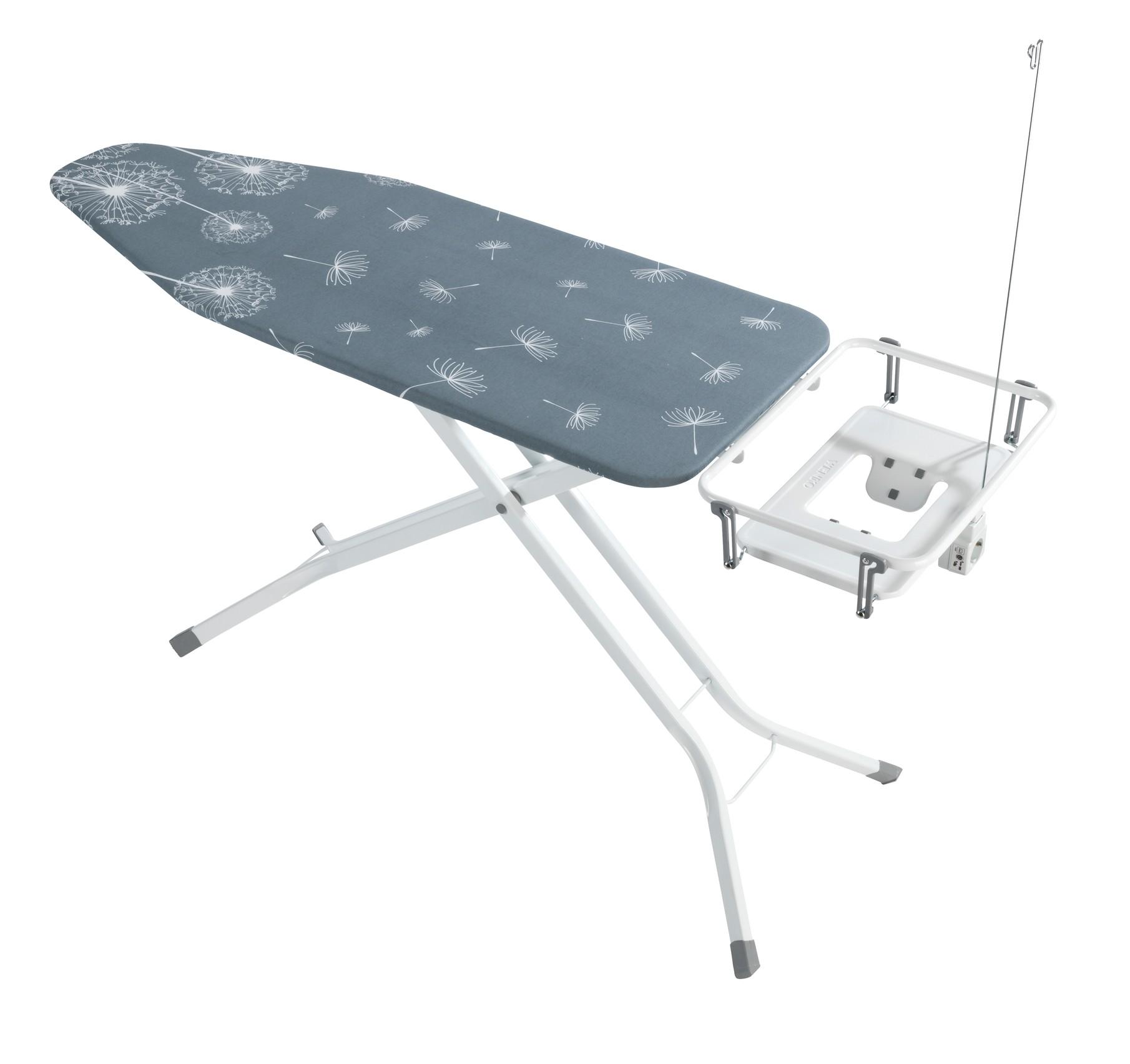 Wenko Bügeltisch Professional, extra breit, geeignet für Dampfbügelstationen