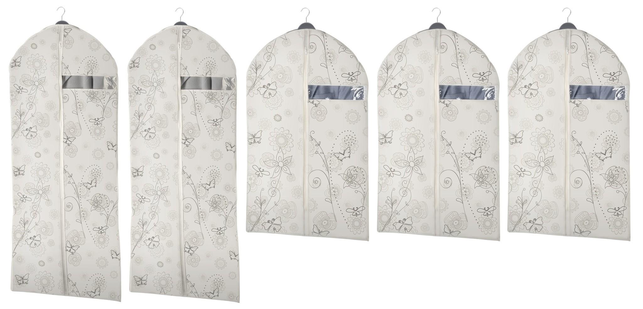 Kleidersack Butterfly, 5er Set in 2 Größen