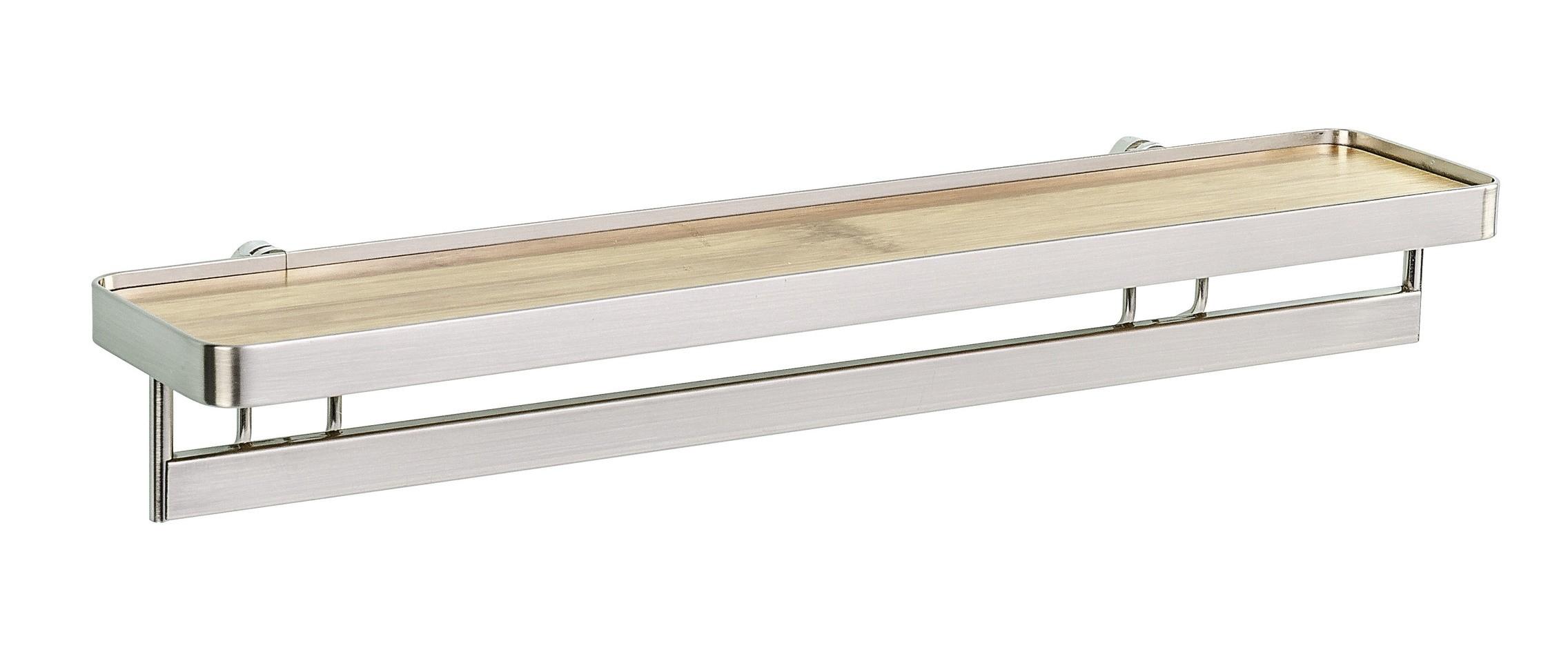 Wenko Vacuum-Loc® Gewürzregal mit Reling Premium, Befestigen ohne bohren