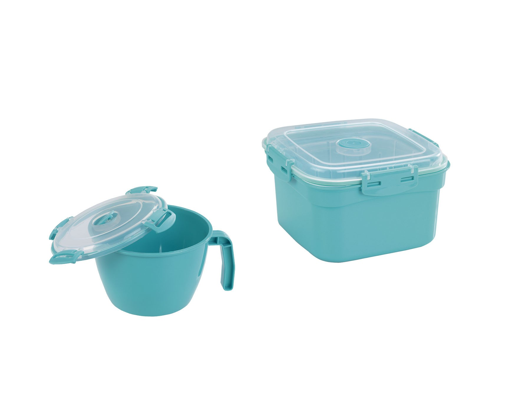 Wenko Mikrowellen-Tasse und -Dampfgarer, 900 ml & 2000 ml