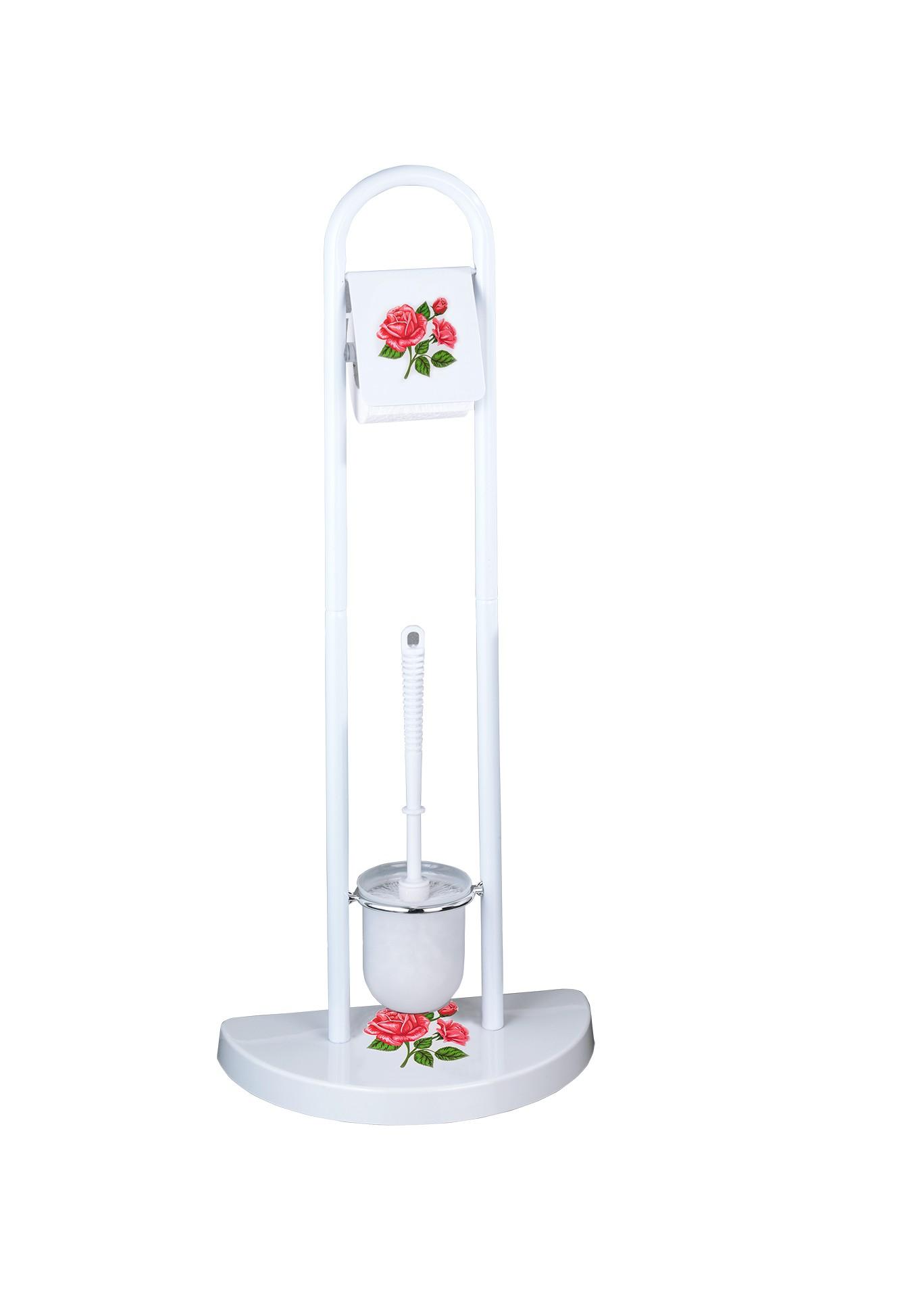 Stand WC-Garnitur Rosen-Romantik