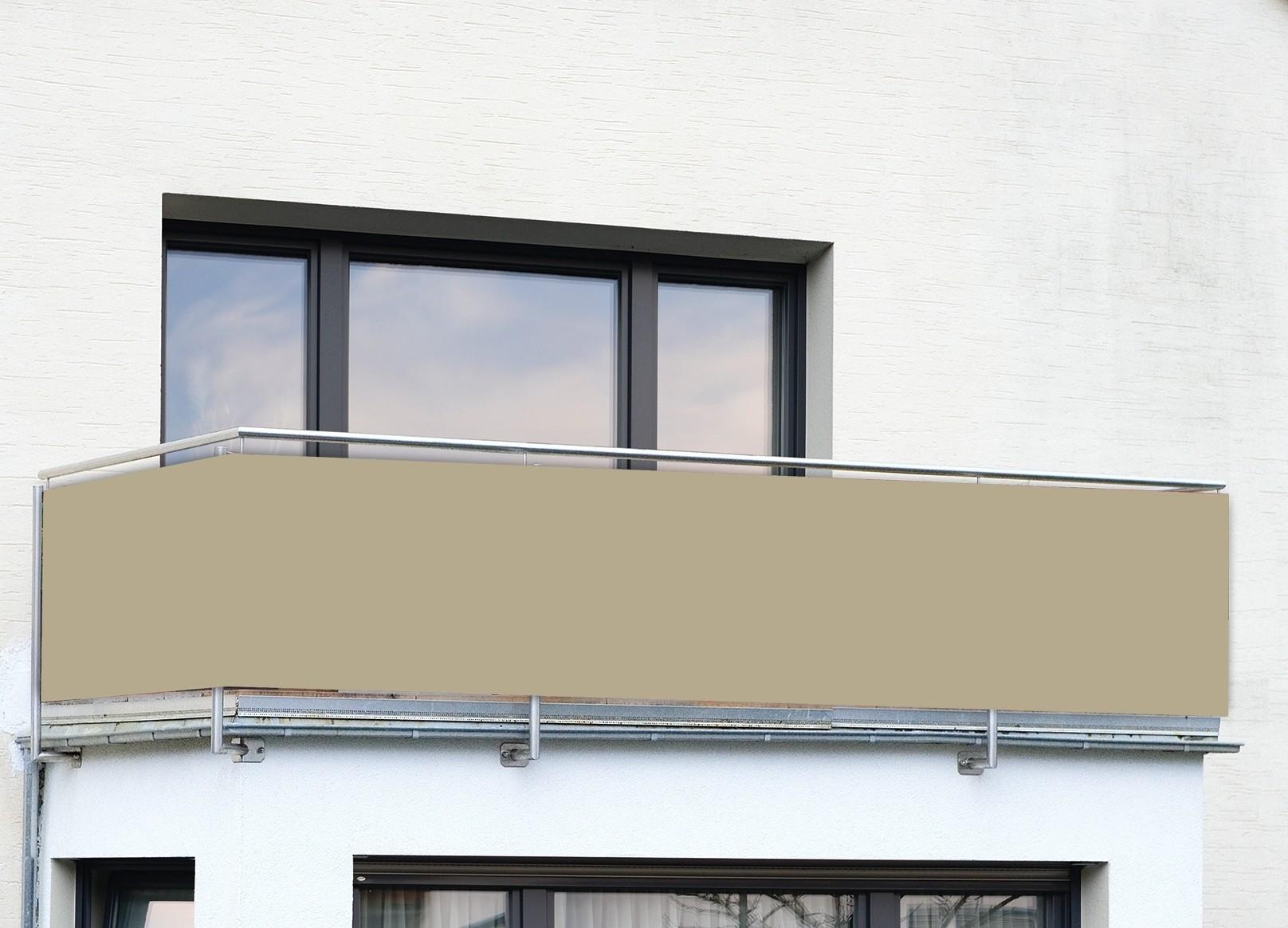 Balkon Sichtschutz Sand Uni Wenko Von Wenko Jetzt Kaufen Bei Wc