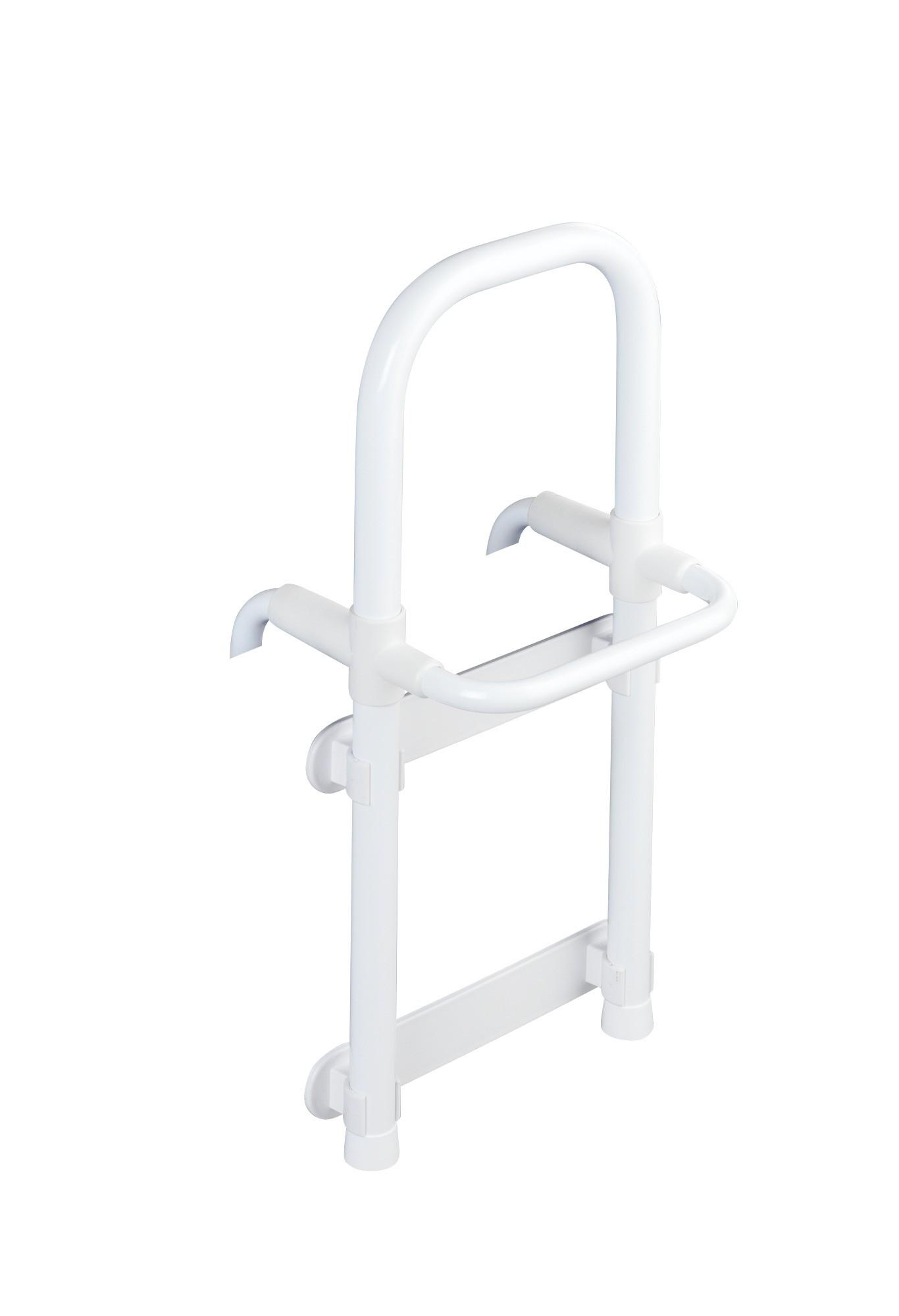 Badewannen-Einstiegshilfe Secura Weiß, verstellbar, 120 kg Tragkraft