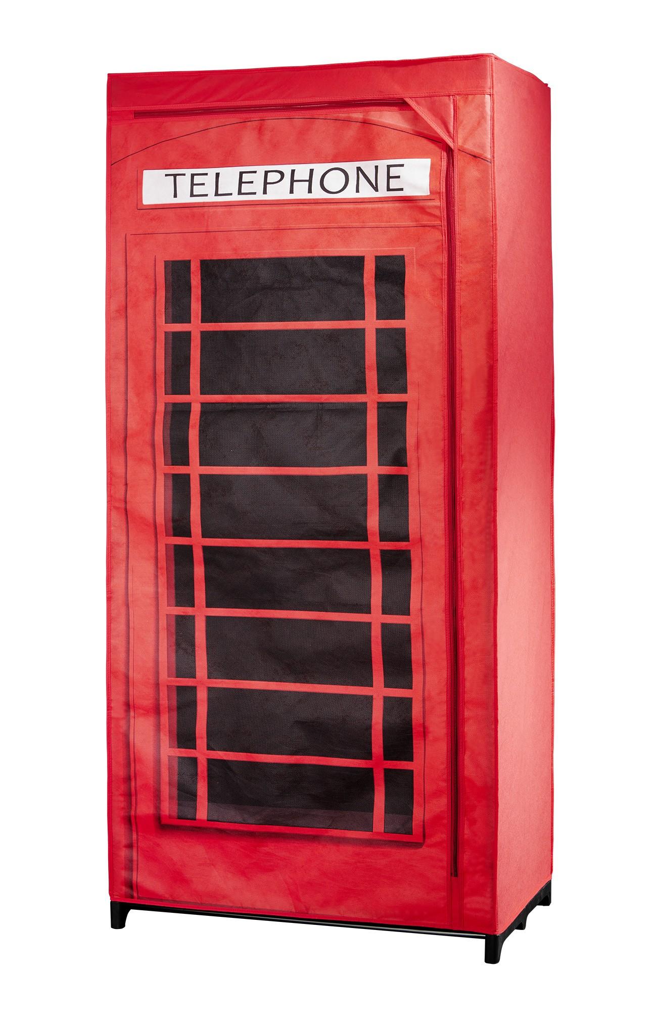 Kleiderschrank Telefonzelle Großbritannien