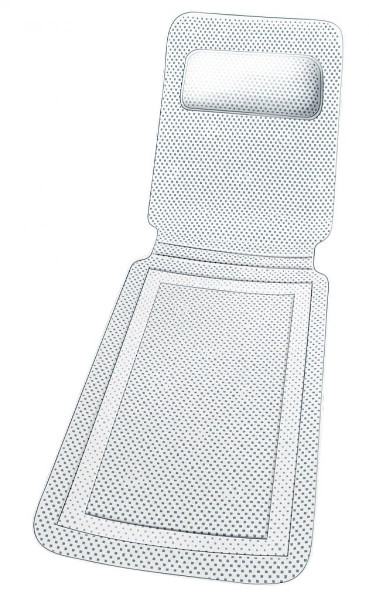Wanneneinlage Komfort, 125 x 36 cm
