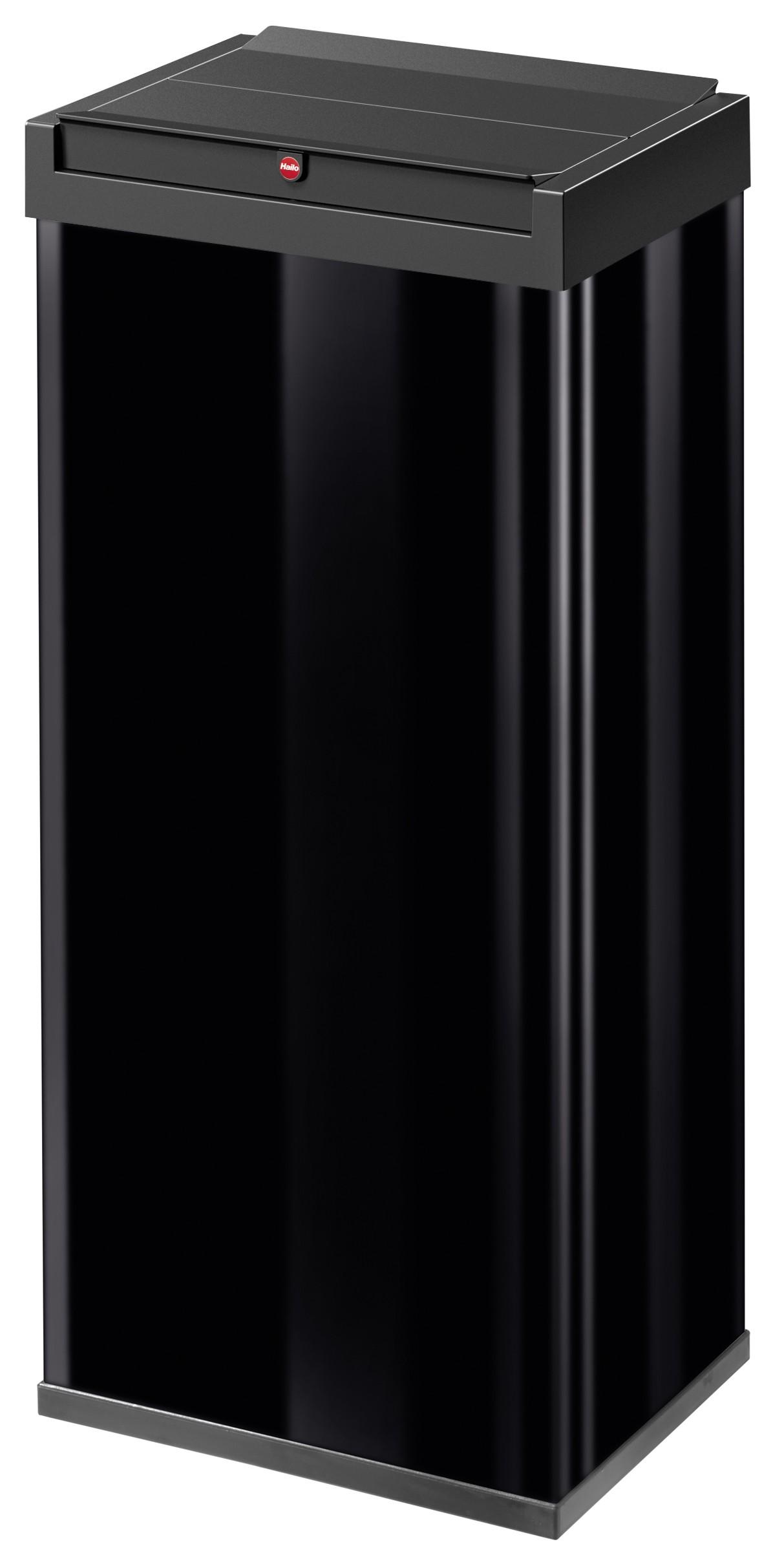 Hailo Big-Box Swing XL, schwarz, 52 Liter, Großraum-Abfallbox