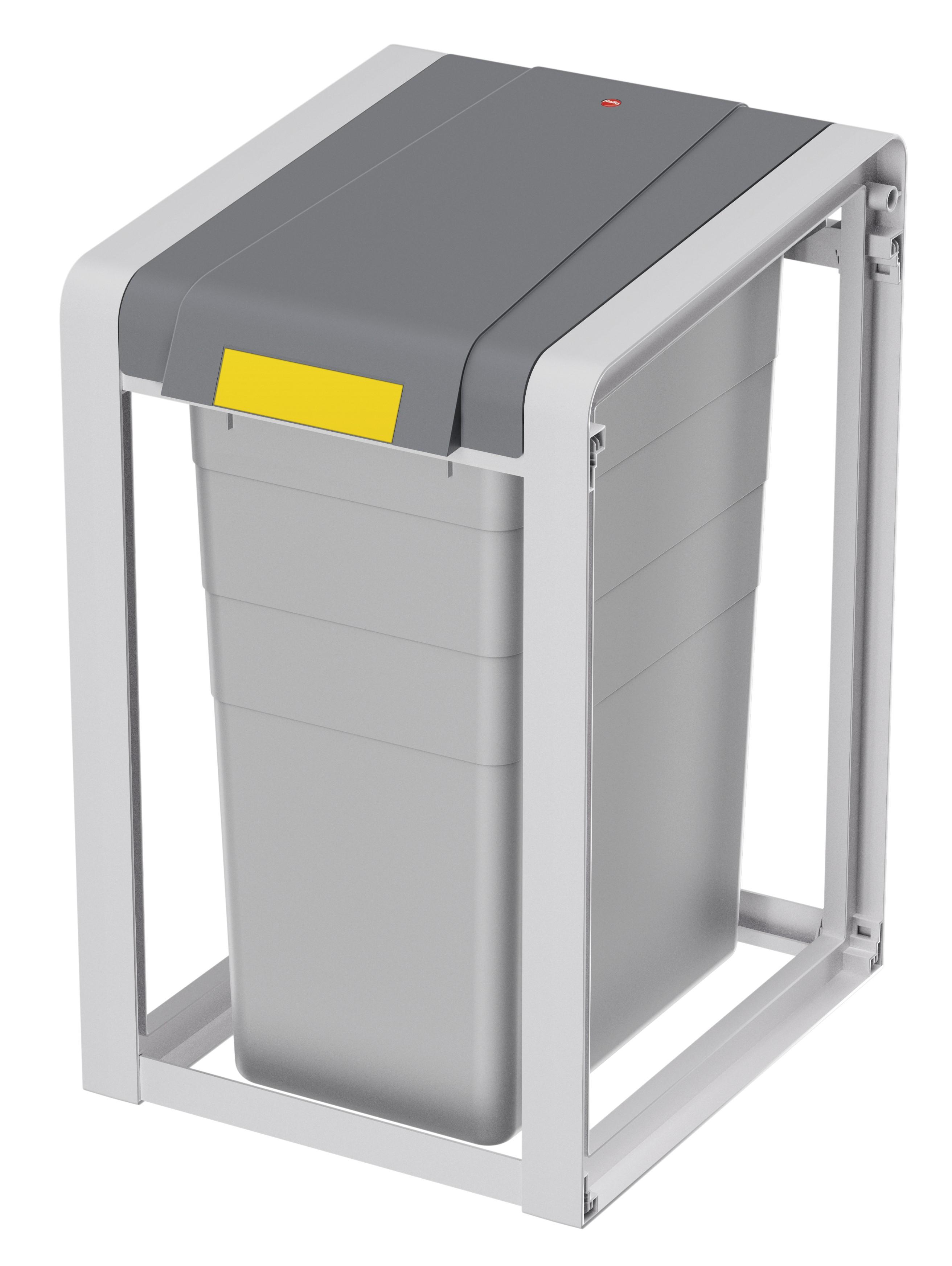 Hailo ProfiLine Öko XL, Basiseinheit, Mülltrenn-System, 38 Liter