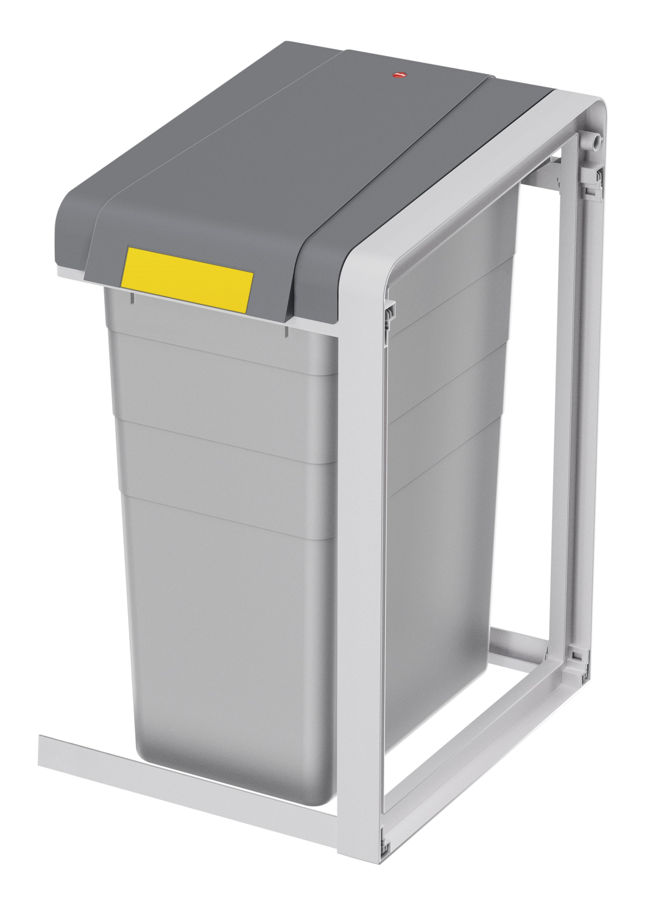 Hailo ProfiLine Öko XL, Erweiterungseinheit, Mülltrenn-System, 38 Liter