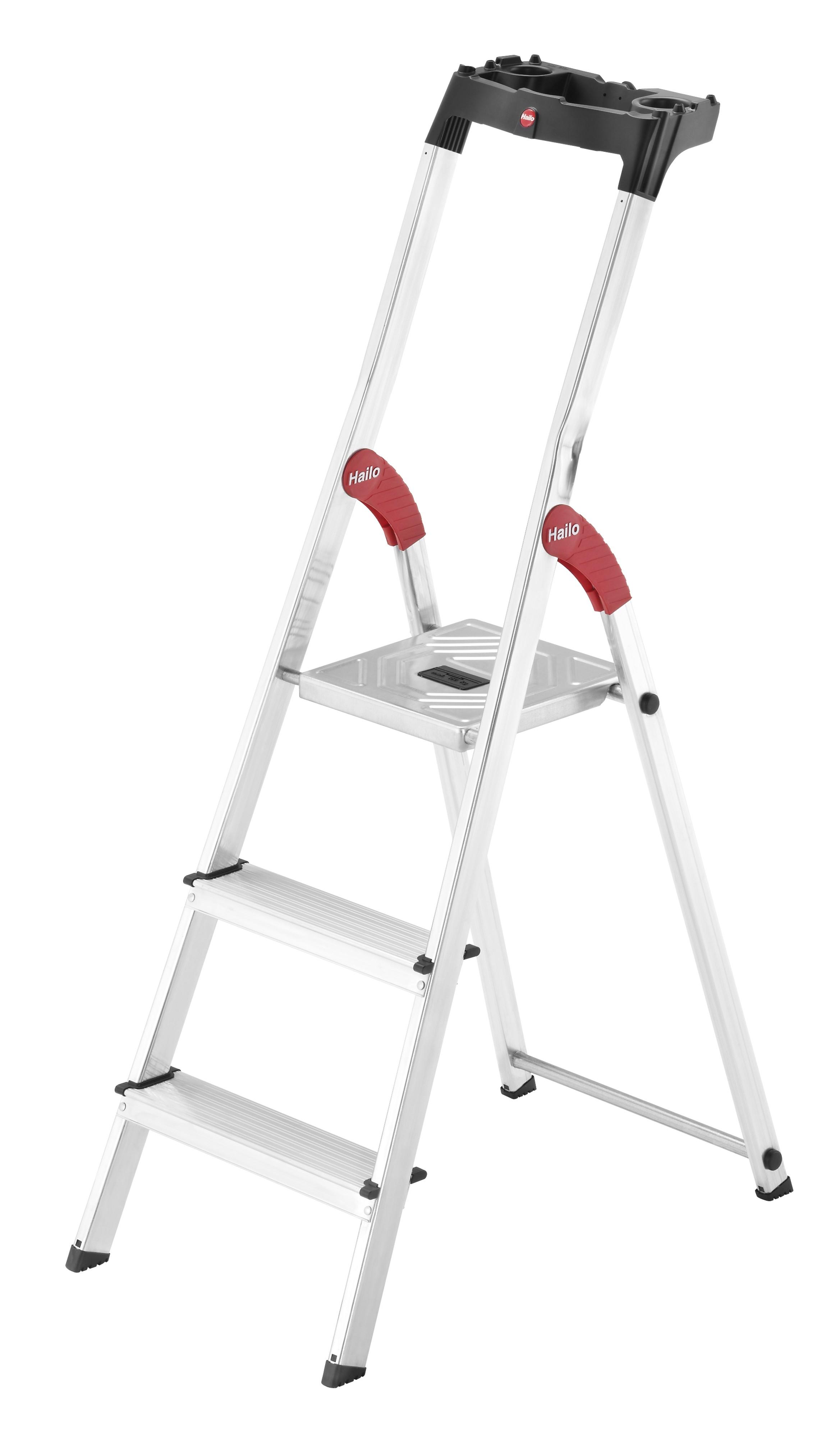 Hailo L60 StandardLine, 3 Stufen, Stufenstehleiter