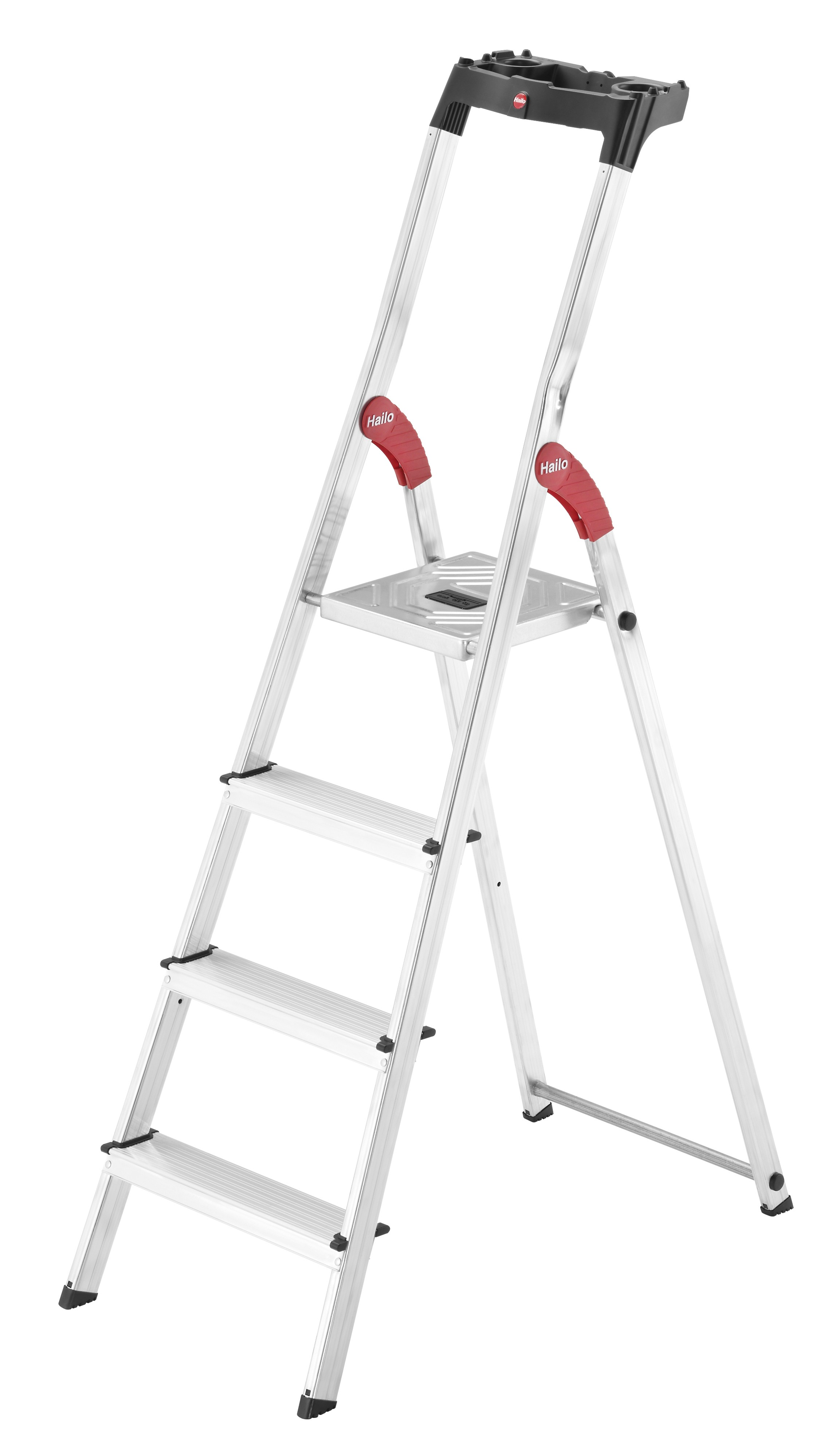 Hailo L60 StandardLine, 4 Stufen, Stufenstehleiter
