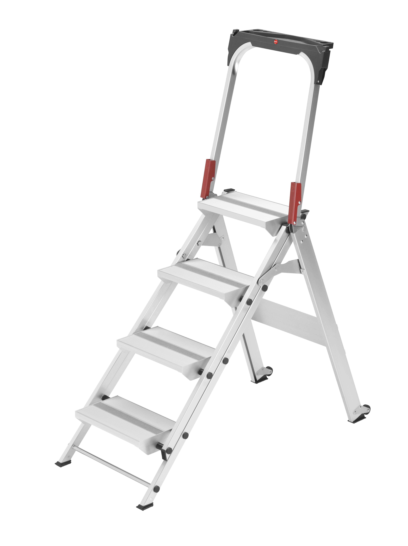 Hailo ProfiLine ST 150 XXL, 4 Stufen, Sicherheitstreppe