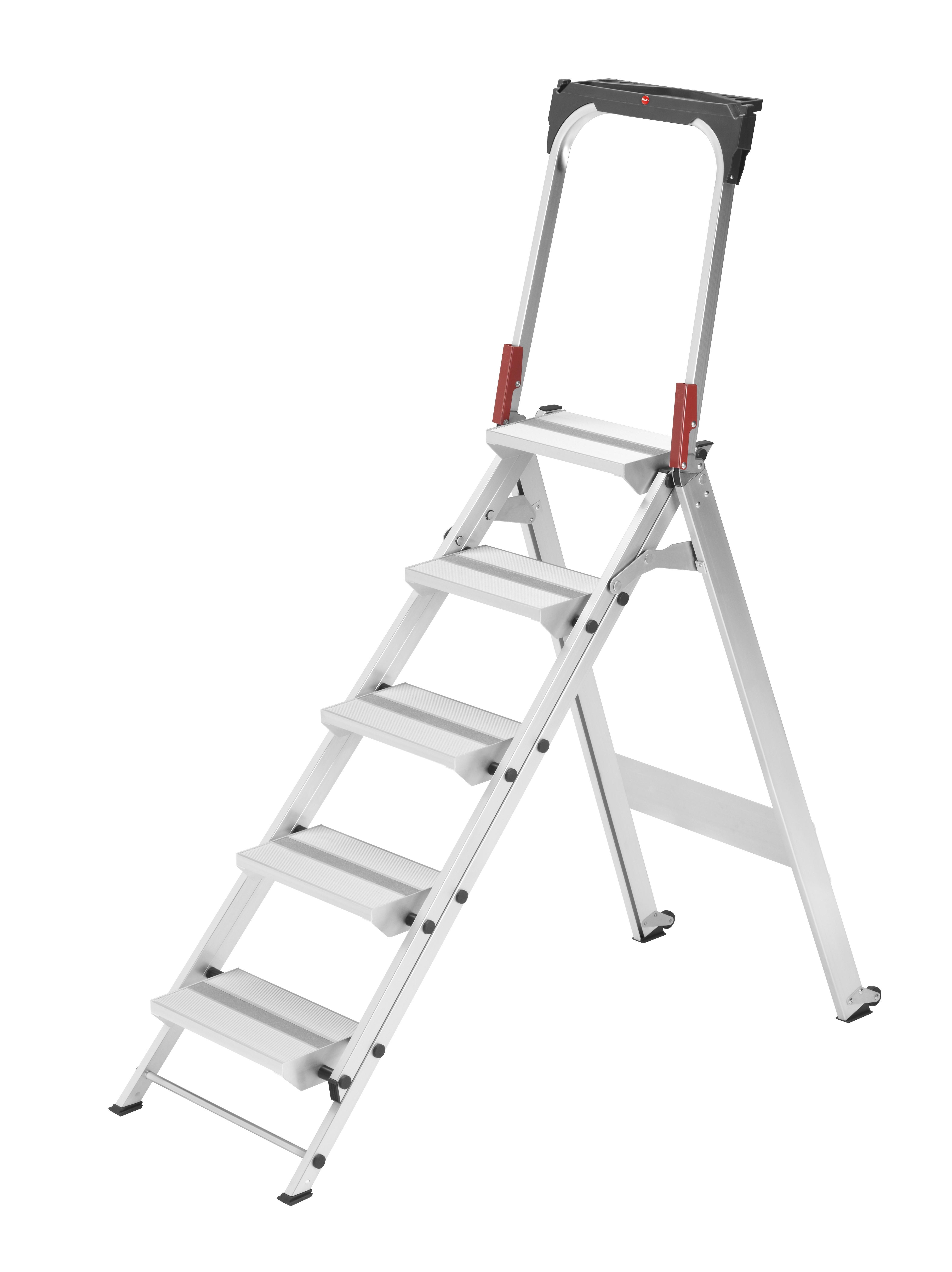 Hailo ProfiLine ST 150 XXL, 5 Stufen, Sicherheitstreppe