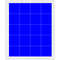Fliesenaufkleber blau, ca. 1 m²