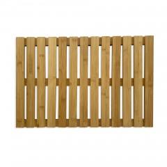 Bambus Dusch- und Saunarost für Innen- und Außenbereich, rutschhemmend 60 x 40 cm
