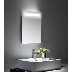 Posseik LED Spiegel 45x60 cm mit Touch Bedienung EEK: F