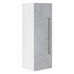 Posseik Hochschrank VIVA 100cm mit Tür beton Weiß-Beton