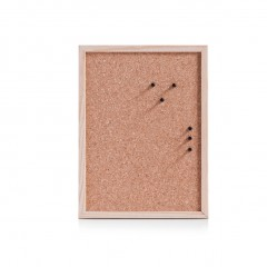 Zeller Pinboard, Kork/Kiefer, 40 x 30 cm
