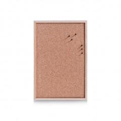 Zeller Pinboard, Kork/Kiefer, 60 x 40 cm