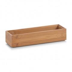 Zeller Ordnungsbox, Bambus, 23 x 7,5 x 5 cm