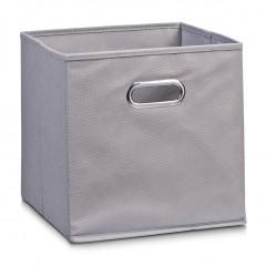 Zeller Aufbewahrungsbox, Vlies, grau, 32 x 32 x 32 cm