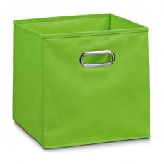 Zeller Aufbewahrungsbox, Vlies, grün, 32 x 32 x 32 cm