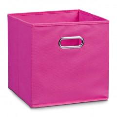 Zeller Aufbewahrungsbox, Vlies, pink, 32 x 32 x 32 cm