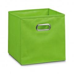 Zeller Aufbewahrungsbox, Vlies, grün, 28 x 28 x 28 cm