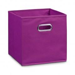 Zeller Aufbewahrungsbox, Vlies, lila, 28 x 28 x 28 cm