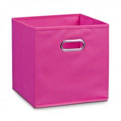 Zeller Aufbewahrungsbox, Vlies, pink, 28 x 28 x 28 cm