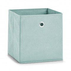 Zeller Aufbewahrungsbox, Vlies, mint, 28 x 28 x 28 cm