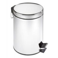 Kosmetik-Treteimer Edelstahl, 5 Liter, rostfrei
