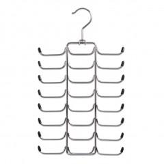 Zeller Krawatten-/Gürtelhalter, Metall verchromt
