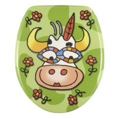 WC-Sitz Crazy Cow