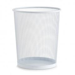 Zeller Papierkorb, Mesh, weiß, Ø29,5 x 35 cm