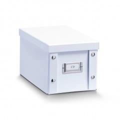Zeller CD-Box, Pappe, weiß