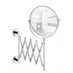 Wenko Power-Loc Teleskop Kosmetikspiegel Elegance, Befestigen ohne bohren