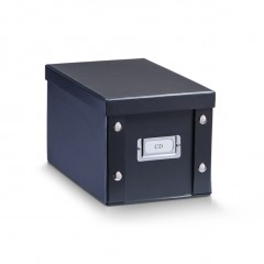 Zeller CD-Box, Pappe, schwarz