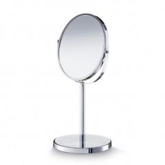 Zeller Kosmetikspiegel, 1x/3x, Metall verchromt, silber, Ø17; Ø15 x 35 cm