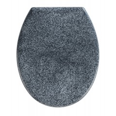 Premium WC-Sitz Ottana Granit, mit Absenkautomatik