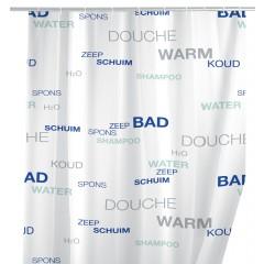 Wenko Duschvorhang Water, 180 x 200 cm