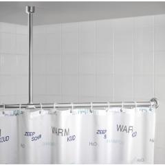 Wenko Deckenstütze für Teleskop-Duschstange Chrom
