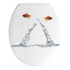 WC-Sitz Springing Fish