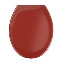 Premium WC-Sitz Ottana Rot, mit Absenkautomatik