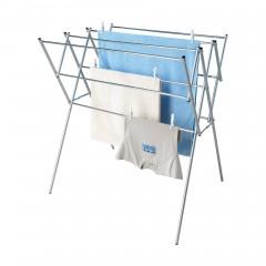 Wäscheständer ausziehbar aus rostfreiem Edelstahl