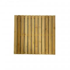 Bambus Dusch- und Saunarost für Innen- und Außenbereich, rutschhemmend 50 x 50 cm