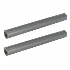 Wasserdichte extra starke Antirutschmatten, 2x 150 x 50 cm, zuschneidbar, grau, für Kühlschrank und Schublade